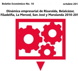 Dinámica empresarial de Risaralda, Belalcázar, Filadelfia, La Merced, San José y Marulanda 2010-2017