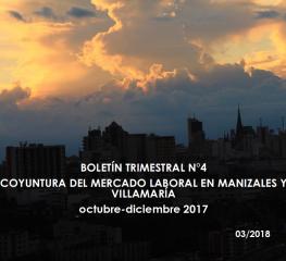 Boletín Trimestral Coyuntura del mercado laboral – Cuarto trimestre 2017