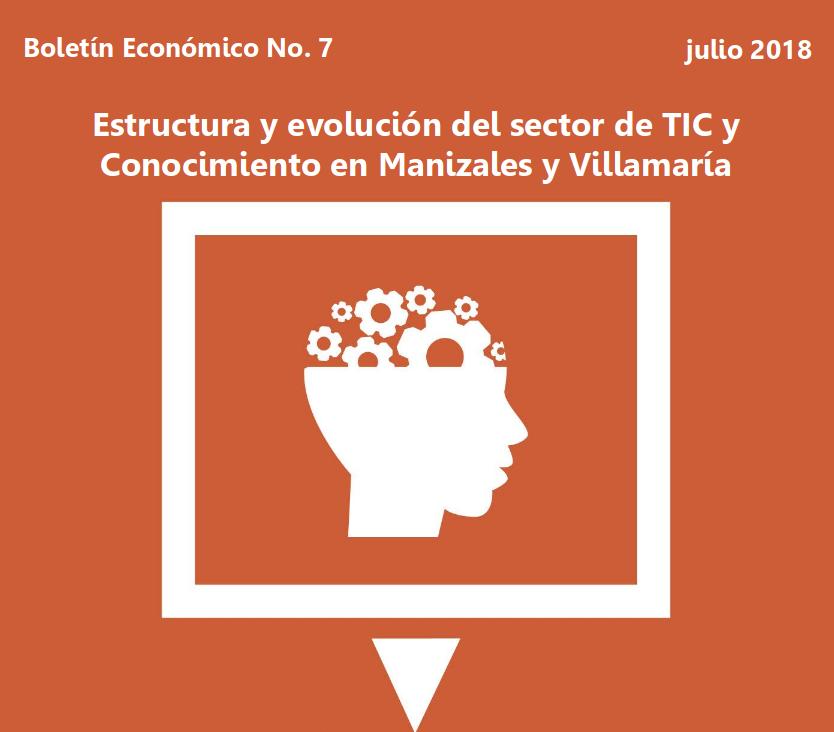 Estructura y evolución del sector de TIC y Conocimiento en Manizales y Villamaría