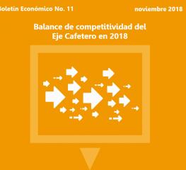 Balance de competitividad del Eje Cafetero en 2018