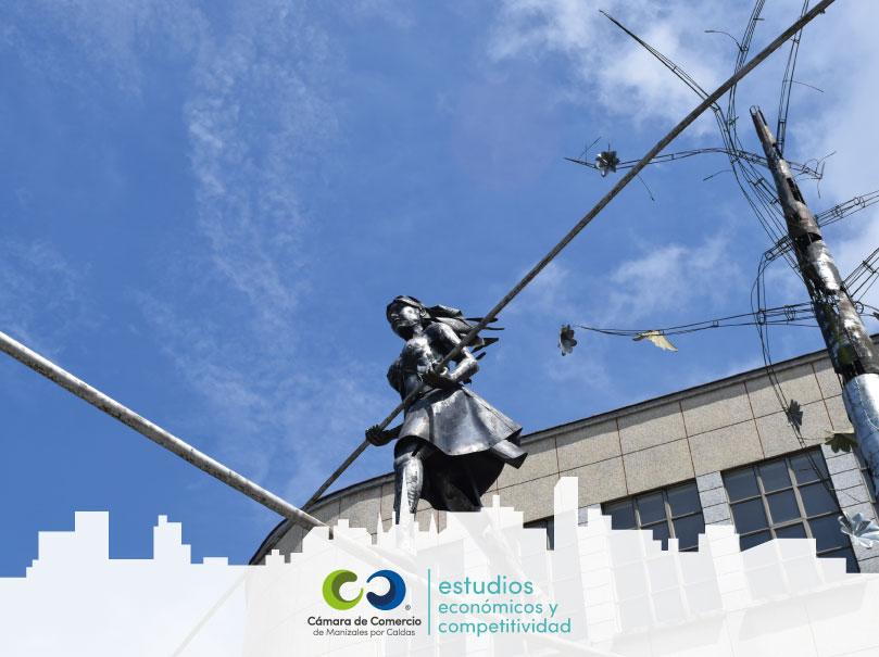 Dinámica empresarial en Manizales enero a octubre de 2020 vs 2019